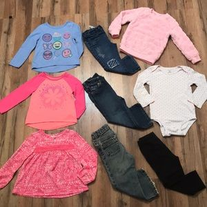 ✨GIRLS OUTFIT SETS OF OLD NAVY/ OKIE DOKIE BUNDLE✨